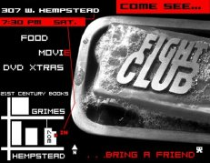 Fight Club Invite
