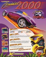 Cruis'n Contest Poster