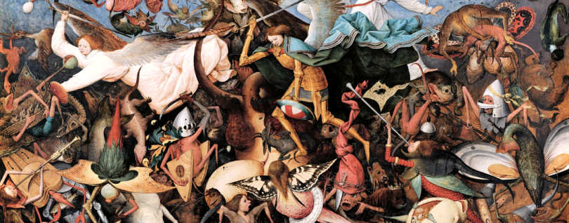 The Fall of the Rebel Angels by Pieter Bruegel the Elder (1562).