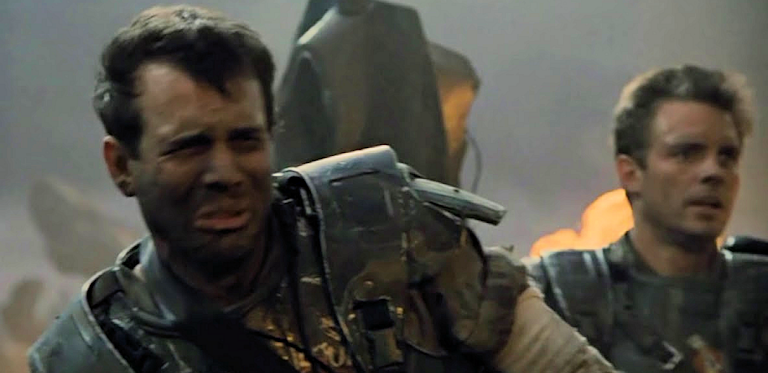 Hudson and Hicks in Aliens